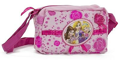 Disney Princess Rapunzel Cinderella Girl School Cross Body Shoulder Hand Bag New