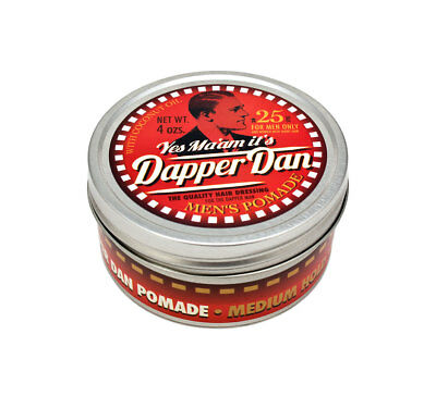 (13,99 EUR pro 100 ml) DAPPER DAN Men's Pomade medium Haarpomade Haarwachs