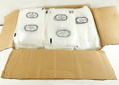Lot of (9000) ISI Clear Poly 4.5 x 8.75 Bags ^ New Retail Merch Storage Packing
