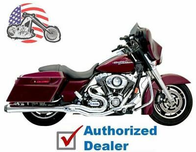"Bassani Road Rage 2 into 1 II B4M Exhaust Pipe System 4"" Chrome Harley Touring"