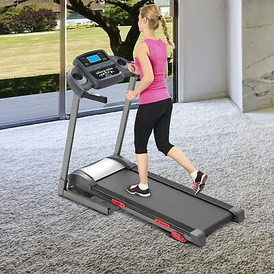 Cinta de Correr Electrica Plegable 240V Pantalla LCD MP3 Fitness Motorizada LED
