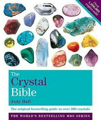 The Crystal Bible: Godsfield Bibles by Judy Hall Paperback Book Free Shipping!