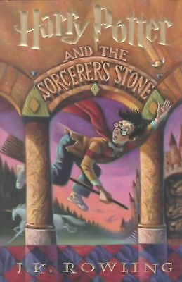 Harry Potter and the Sorcerer's Stone by J.K. Rowling Hardcover Book (English)