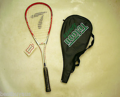 New!!! Men's Women's Adult Alloy Squash Racquet & Cover
