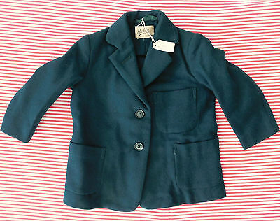 Vintage girls green Blazer Bukta 1950s 1960s School Uniform for SMALL children
