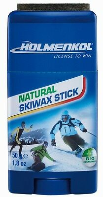 Holmenkol Natural Skiwax Wax Stick Skiwachs Allround Biowachs