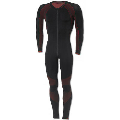 Held Race Skin Base Layers Black / Red Moto Motorbike One Piece Suit | All Sizes