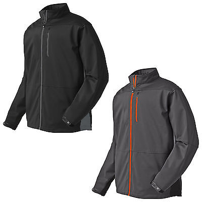 Footjoy Mens Softshell Full Zip Jacket - New Golf Sport Fleece Coat Top Fj 2015
