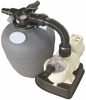Swimming Pool Pump Filter 0.12Hp, 0.2Hp Pump/filter Combo With Timer Tuv & Ce