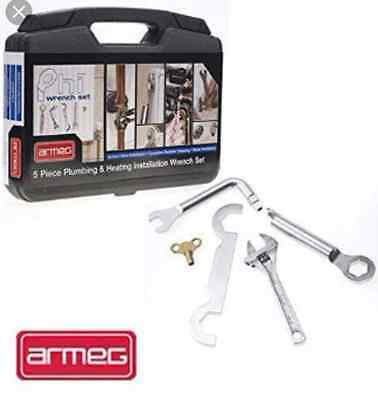 Armeg PHI Set Plumbing Wrench Set 5 PC