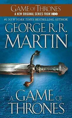 A Game of Thrones by George R.R. Martin (English) Mass Market Paperback Book Fre