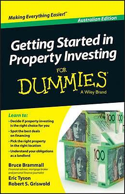 Getting Started in Property Investing For Dummies by Bruce Brammall (English) Pa