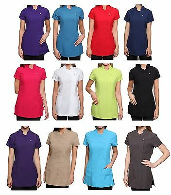 Freya Nail Salon Beauty Hairdressing SPA Therapist Massage Tunic Uniform