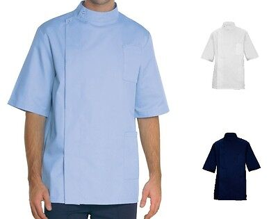 Men Male Dentist Medic Health Therapist Healthcare Doctor Top Tunic Jacket Shirt