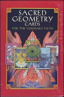 NEW The Sacred Geometry Oracle Cards For the Visionary Path Deck Francene Hart