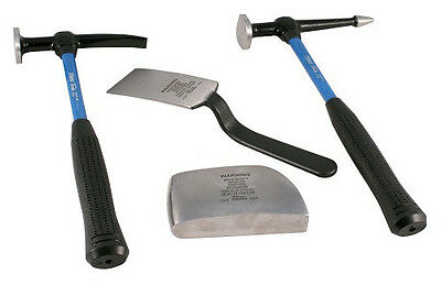 Martin 4 Piece Hammer & Dolly Set Fiberglass Handle 644KFG