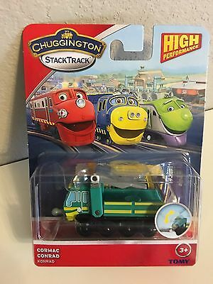 Chuggington StackTrack- Die-Cast CORMAC by Tomy- NIP- Free 1st class shipping