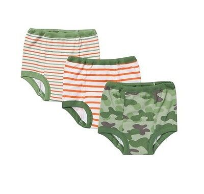 Gerber Toddler Baby Boy 3-Pack Training Pants Green Camo Size 2T (28-32lbs)