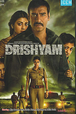 Drishyam Dvd Bollywood Hindi Movie Original Brand New