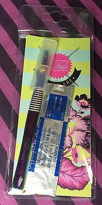 Tula Pink Hardware ~ 5.5 Inch Surgical Seam Ripper ~ Stainless Steel with Blades