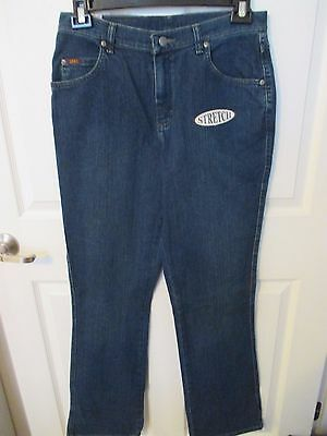 NWT - LEE ladies blue denim Relaxed Bootcut jeans - sz 10 L - STRETCH