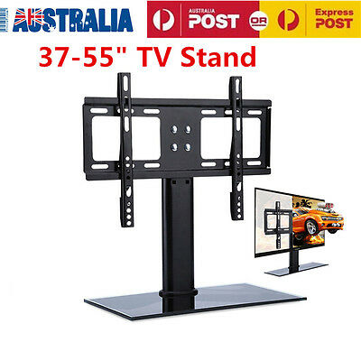 37-55'' Universal LCD LED TV Stand Plasma VESA Mount Desktop Monitor Bracket