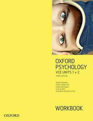 Oxford Psychology Units 1+2  Workbook by Roger Edwards Paperback Book