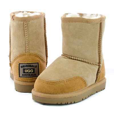 Originals Ugg Australia Sheepskin Mid Boot 4 6 8 10 12 14 1 2 3  Boys Girls Kids