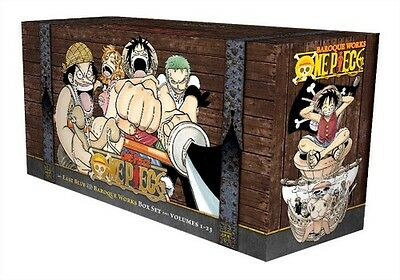One Piece Box Set: East Blue and Baroque Works (Volumes 1-23 with Premium) by Ei