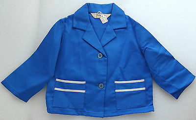 Vintage childrens clothes 1950s Girls blazer TRIMSONA Age 1 year sailor jacket