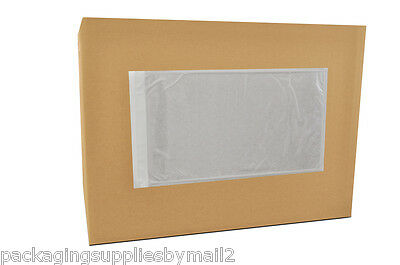 3000 Clear Packing List/Postage Shipping Label Envelopes 5.5x10 Self Adhesive