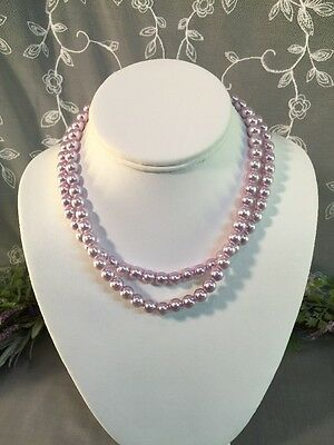Lovely Vintage To Now 2 Strand Beaded Necklace-- Estate Jewelry Lot