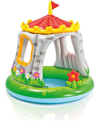 Intex Baby-Pool Ritterburg Royal Castle mit Sonnendach Planschbecken Kinderpool