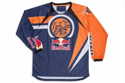 Maglia da Motocross Enduro Red Bull Vintage Shirt 14 Orange