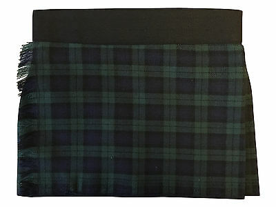 Black Watch Tartan Velcro Adjustable Baby Kilt 0-24 Months