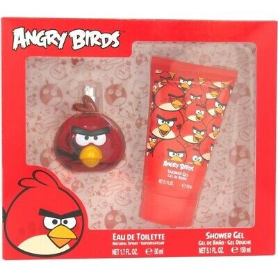 Angry Birds Red 50ml EDT 2pc Gift set (L) SP Kids 100% Genuine (New)