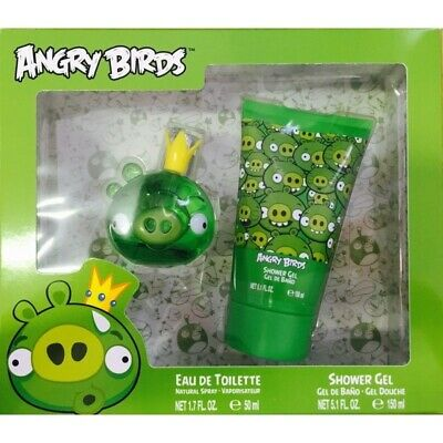 Angry Birds Green 50ml EDC 2pc Gift set (L) SP Kids 100% Genuine (New)