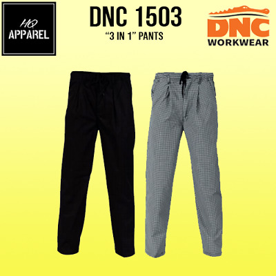 Polyester Cotton 3 In 1 Pants Unisex Brand New Uniform 1503 Dnc
