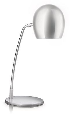 Brand New Philips My Home Office Arts Stylish Metal Table Desk Lamp White Shade