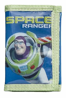 New Brand Disney Toy Story Buzz Lightyear To The Rescue Blue & Green Wallet
