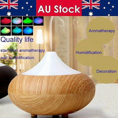 Large Essential Aroma Diffuser Oil Ultrasonic Humidifier Aromatherapy Purifier