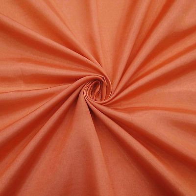 "Solid Poly Shantung Gown Fabric 43""Wide Wedding Dress Material Sewing By The"