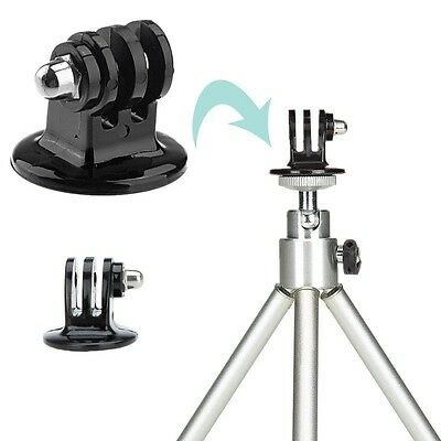 Tripod Monopod Mount Adapter For GoPro HD Hero 1 2 3 4 Camera Accessories CND