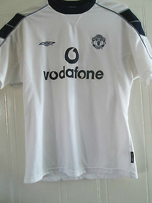Manchester United 1998-1999 Third Football Shirt Medium /40231