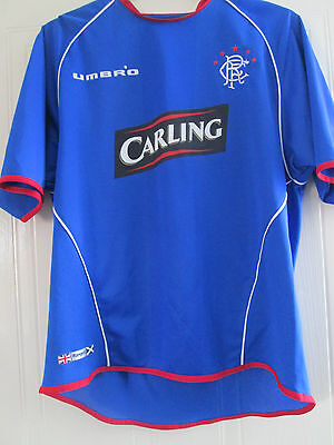 Rangers 2005-2006 Home Football Shirt Size Large /40247