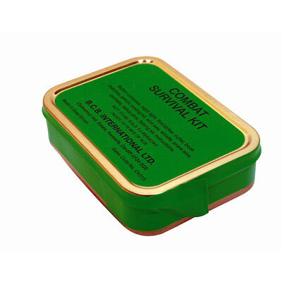 NEW - BCB Combat Survival Kit Tin British Army NATO Military Issue Cadets Scouts