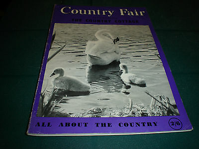 Country Fair Magazine May 1964 Cover William S. Paton