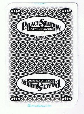 Palace Station Casino & Resort Deck Of 52 Casino Playing Cards & Jokers & Box