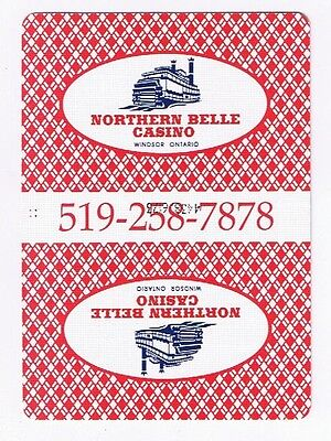Northern Belle Casino Windsor- Deck Of 52 Casino Playing Cards & Jokers & Box