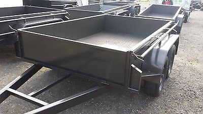 10x5 2T Tandem Trailer with Checker Plate Floor & Hyd Brakes